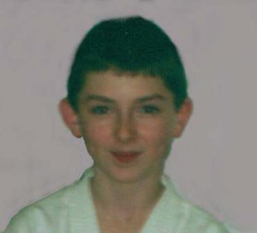 James Gallagher 1st Dan